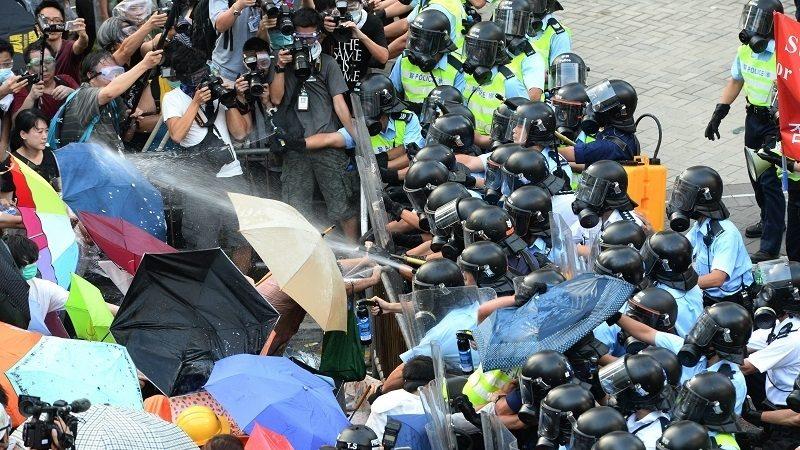 林保华:雨伞革命中的中国阴影