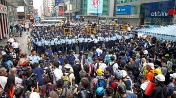 中子子:所有对香港和平民众施暴者都是罪犯!