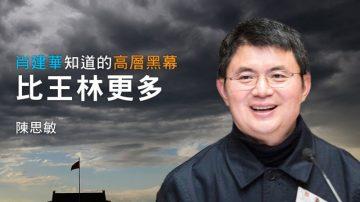 陈思敏:肖建华知道的高层黑幕比王林更多