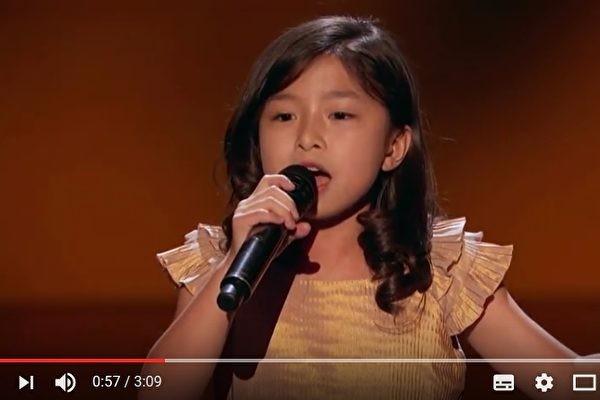 香港9岁女童 保送《美国达人秀》准决赛
