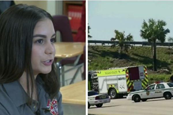 少女励志成为救护员 一天遇可怕意外 她的抉择令人感动