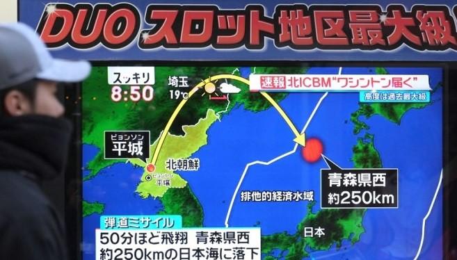 """朝鲜换地点射""""火星15型""""飞弹 美警告很快会威胁全球"""