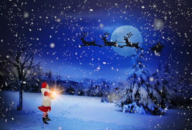 圣诞老人被无意中拍到 看完还是难以相信(视频)