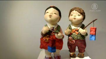 【你好韩国】 韩国传统人偶楮娃娃