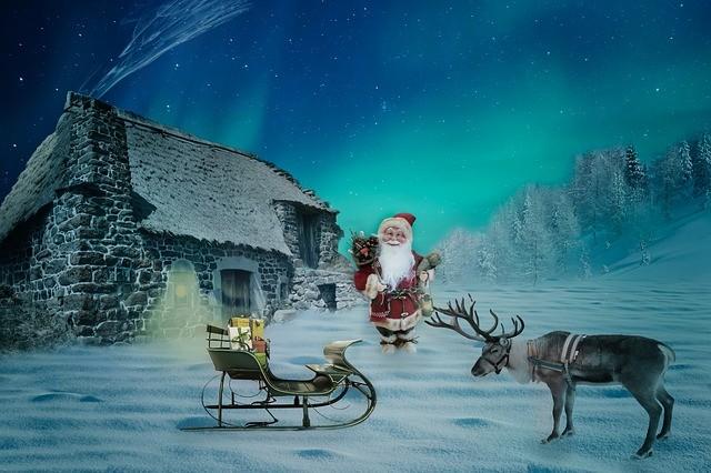 你知道吗?圣诞老人的每一只驯鹿都有一个意义独特的名字