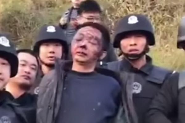 """湘杀人警察举枪爆头 枪洞""""一个手指伸不到底"""""""