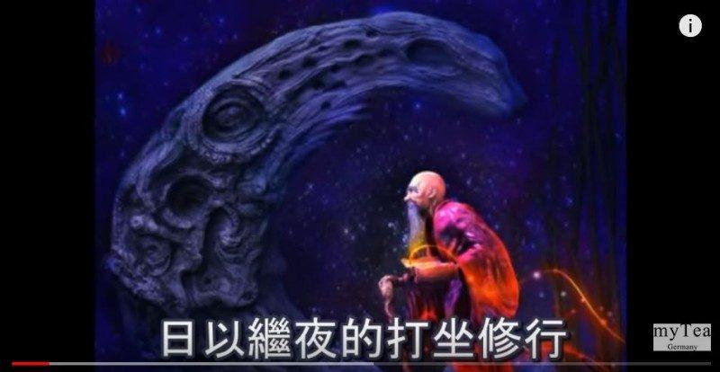老和尚忆起前世 曾参与建造月球过程(视频)