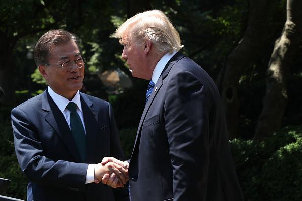 韩朝会谈结果如何?川普:天知道