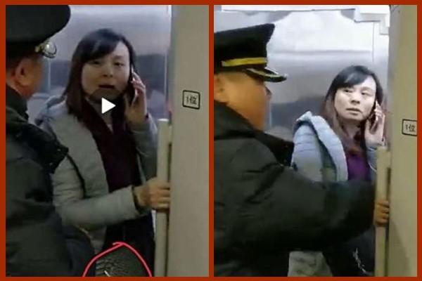 官媒呼吁保护高铁扒门女  激怒大批网友