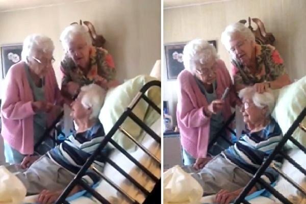 美到人生最后 近百岁2妹为姊梳银丝 超暖短片疯传