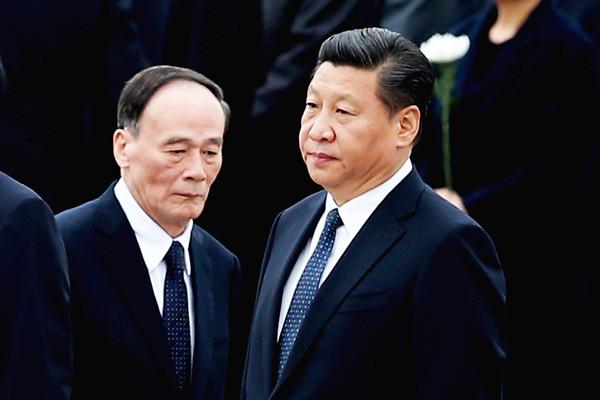 港媒:王岐山出任副主席 与习搭配有多种可能