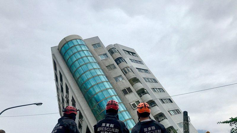 花莲地震 住户报平安 失联骤降剩25人