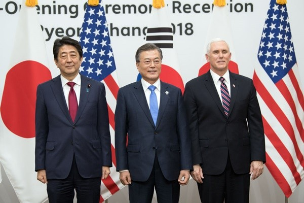 彭斯:美日韩立场一致 不会改变对朝政策