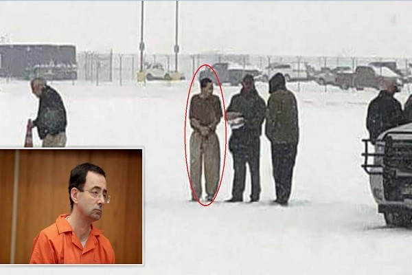 美国狼医冰天雪地发监 瑟缩颤抖中展开牢狱生涯