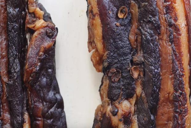 美味广式腊肉 家庭做法 下饭超棒(视频)