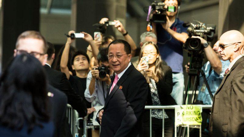 真急了?朝鲜外长李勇浩将访瑞典