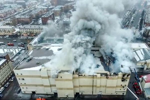 西伯利亚商场违规夺64命 已逮捕5人