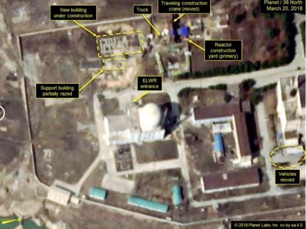 美最新卫星影像曝光  朝鲜疑似正为核试做准备