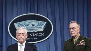 联军空袭行动 美国防部长:向阿萨德发出明确讯息