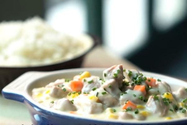 港式经典 粟米肉粒饭(视频)