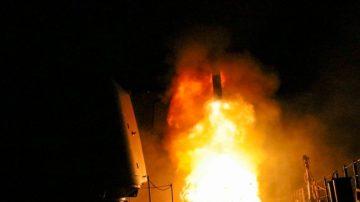 """驳叙利亚""""拦截""""导弹说 美国防部:成功击中每个目标"""