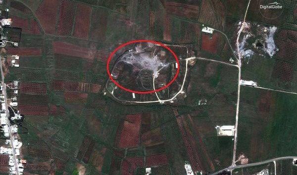 """叙利亚施化武日期敏感 卫星图戳破""""拦截导弹说"""""""