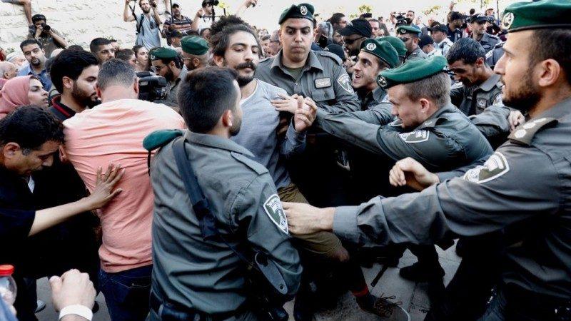 美使馆迁耶路撒冷 以回击巴人暴力抗议致58死