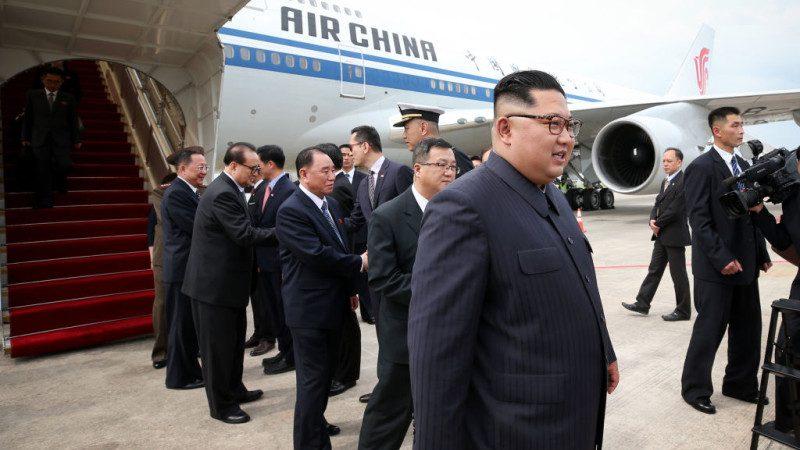 """北京回应金正恩""""借机"""":是朝方主动要求"""