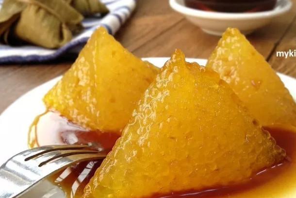 沙谷水晶碱水粽 家庭简单做法(视频)