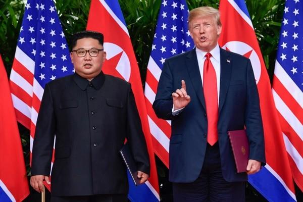 川普向金正恩展示朝鲜未来 建造高楼比军演有意义