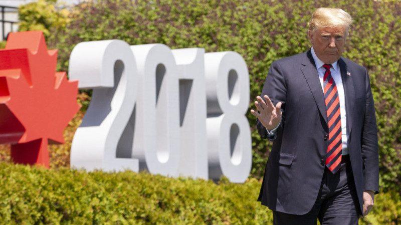 川普谈与G7首脑关系:并非磐石 不过很棒
