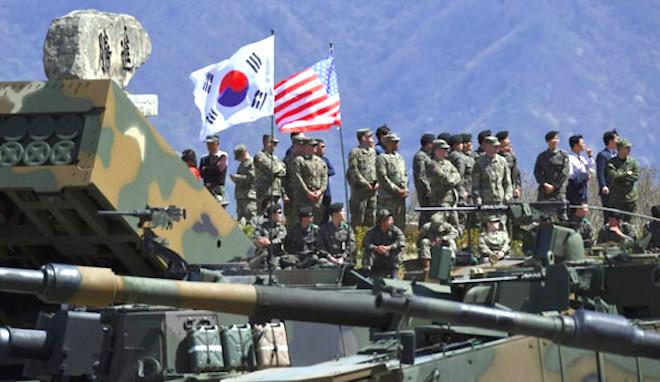 美韩暂停军演生变:朝鲜须先炸导弹试验场