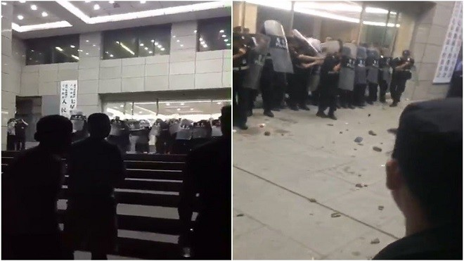 中共发迹地7•1前爆大规模警民冲突  媒体噤声