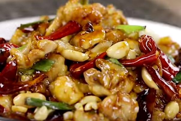 宫保鸡丁、葱烧虾球 美味家常菜快速上桌 1分钟学会(视频)