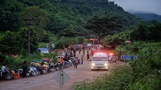 泰洞穴救援4少年获救 9日上午重启救援