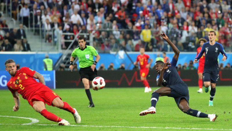 法国1:0胜比利时 三度挺进世界杯决赛