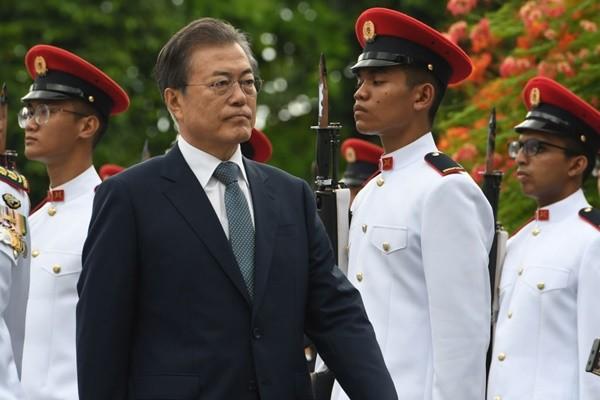 金正恩向川普示好 文在寅:朝鲜一贯谈判策略