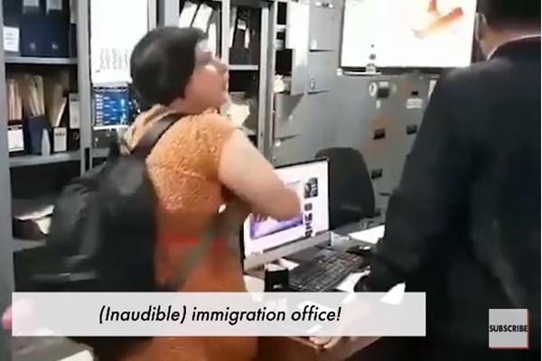 英女逾期逗留被罚不服 掌掴移民局职员