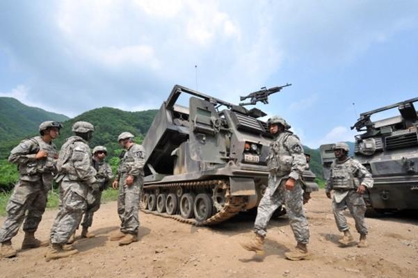 为战时指挥权转移铺路? 美韩将成立联合炮兵旅团
