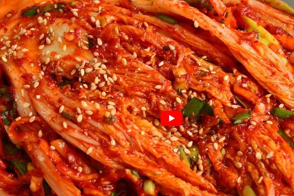 传统韩国泡菜 家庭简单做法(视频)