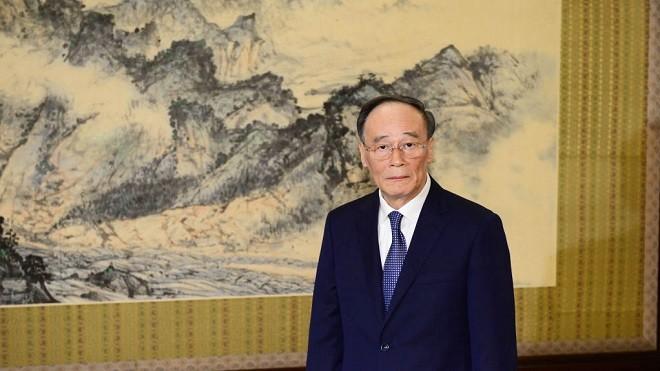 王岐山罕见公开表态与川普同调:中美不是贸易战
