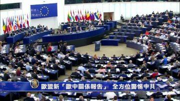 """欧盟新""""欧中关系报告""""  全方位提高警惕中共"""
