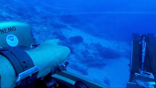 外星人来了?太平洋底发现神秘痕迹(视频)