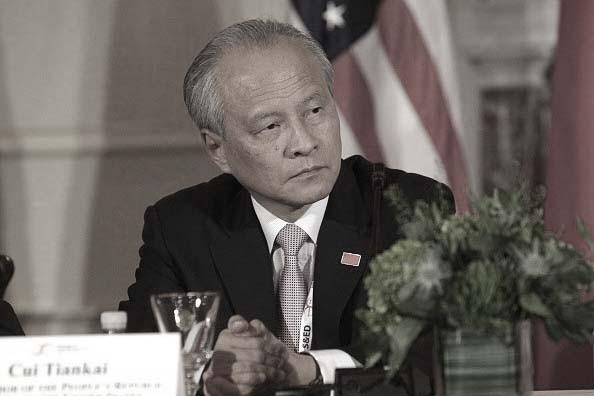 中共驻美大使改口:北京愿让步 有准备达成协议