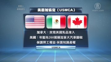 美加达成贸易协定  全球贸易新格局