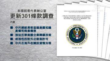 【今日点击】美301报告示中共变本加厉 贸战升级?