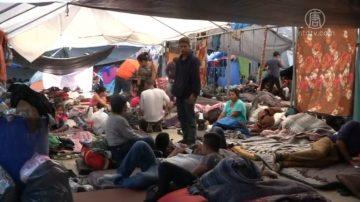 """""""大篷车""""滞留边境 墨西哥人反感升级"""