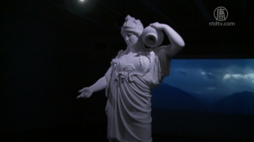 华裔雕塑家诠释雅典娜:族裔包容