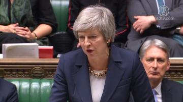 英首相勉强过关 欧盟:不会重新谈判