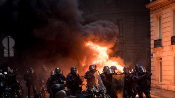 应对周末抗议 法国部署九万警力 店铺关门